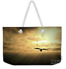 White Light Sunrise Weekender Tote Bag