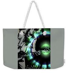 White Lightning Weekender Tote Bag