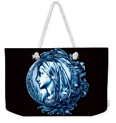 White Lilly Of The Virgin Mary Weekender Tote Bag by Fred Larucci