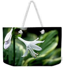 White Lily 1 Weekender Tote Bag