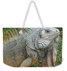 White Lizard Weekender Tote Bag