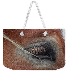 White Mane's Eye Weekender Tote Bag