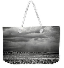 Weekender Tote Bag featuring the photograph White Mountain by Lou Novick