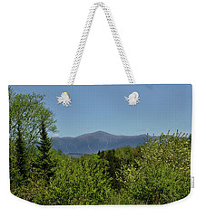 White Mountain View Weekender Tote Bag