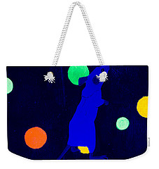 White Mouse Uv Weekender Tote Bag