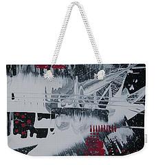 White Noise #1 Weekender Tote Bag