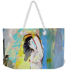 White Nude And Bird Weekender Tote Bag