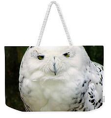 White Owl Weekender Tote Bag by Rainer Kersten