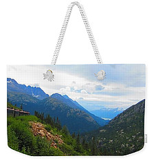 White Pass Rail Road Weekender Tote Bag