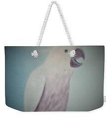 White Peacock Weekender Tote Bag