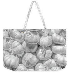 White Pearls Weekender Tote Bag by Charuhas Images