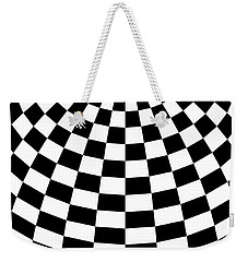 Weekender Tote Bag featuring the digital art White Perfection by Lucia Sirna