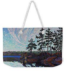 White Pine Island Weekender Tote Bag