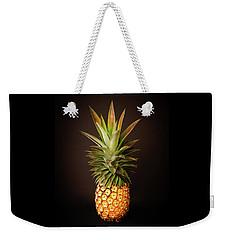 White Pineapple King Weekender Tote Bag