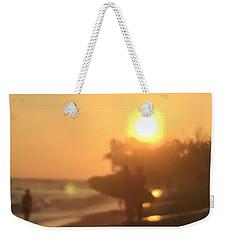 White Plains Beach Weekender Tote Bag