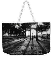 White Point Garden Morning Light Weekender Tote Bag