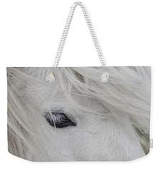 White Pony Weekender Tote Bag