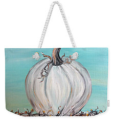 White Pumpkin Weekender Tote Bag