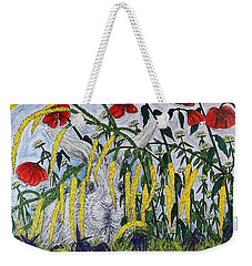 White Rabbit Weekender Tote Bag