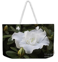 White Rhododendron 1 Weekender Tote Bag