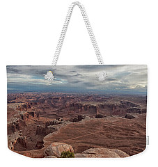 White Rim Overlook Weekender Tote Bag