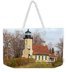 White River Lighthouse Weekender Tote Bag