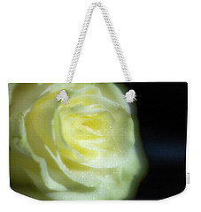 White Rose 4 Soft Weekender Tote Bag