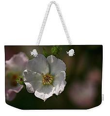 White Rose In Shadow Weekender Tote Bag