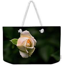 White Rosebud Weekender Tote Bag