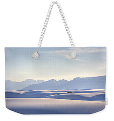 White Sands Blue Sky Weekender Tote Bag