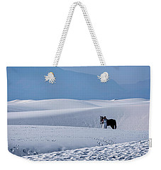 White Sands Horse And Rider #5b Weekender Tote Bag