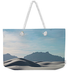 Weekender Tote Bag featuring the painting White Sands Natural Anatomy  by Jack Pumphrey