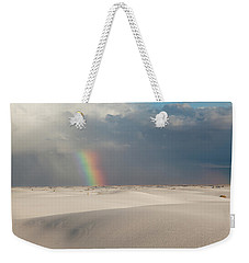 White Sands Rainbow Weekender Tote Bag