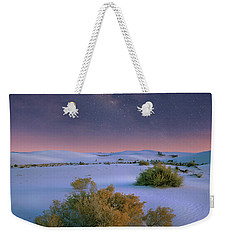 White Sands Starry Night Weekender Tote Bag by Tim Fitzharris