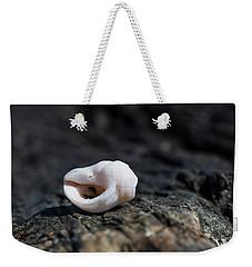 White Shell Weekender Tote Bag