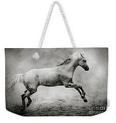 White Stallion Weekender Tote Bag