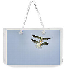 White-tailed Kites Food Exchange Weekender Tote Bag