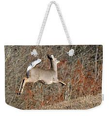 White-tailed Take Off Weekender Tote Bag