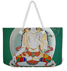 White Tara Weekender Tote Bag