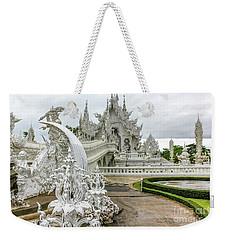 White Temple Thailand Weekender Tote Bag