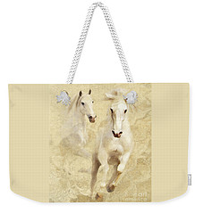 White Thunder Weekender Tote Bag