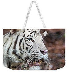 White Tiger 1 Weekender Tote Bag