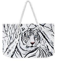 White Tiger Blending In Weekender Tote Bag