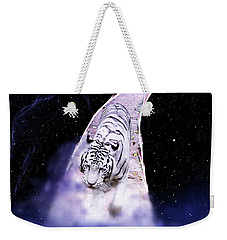 White Tiger Fantasy Weekender Tote Bag