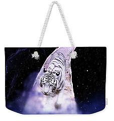 White Tiger Fantasy Weekender Tote Bag