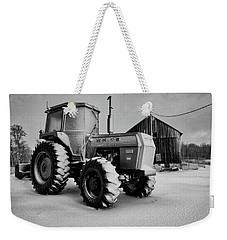 White Tractor Weekender Tote Bag