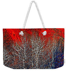 White Trees Weekender Tote Bag