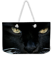 White Whiskers Weekender Tote Bag