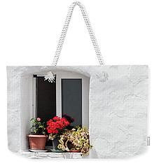 White Window Weekender Tote Bag