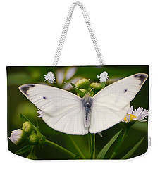 White Wings Of Wonder Weekender Tote Bag